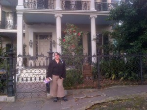 Anne Rice's former home in New Orleans' Garden District.