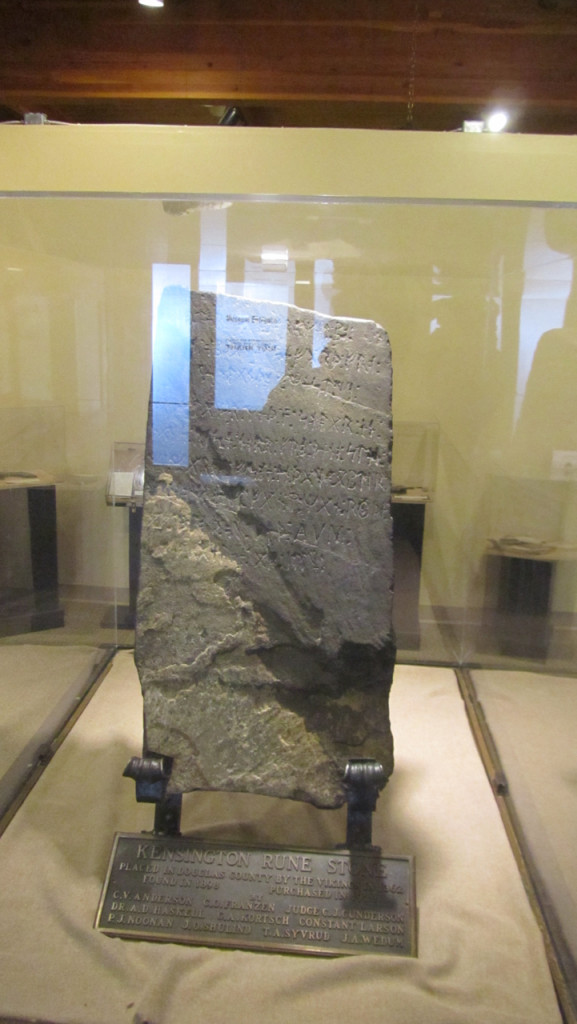 The Kensington Runestone - Proof that Vikings landed in the Great Lakes, or a hoax?